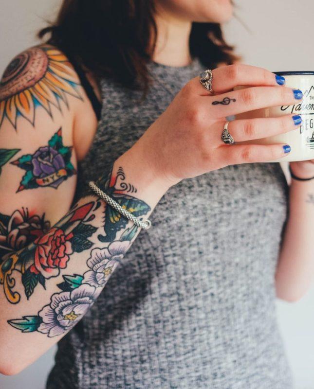 kávés tetoválások